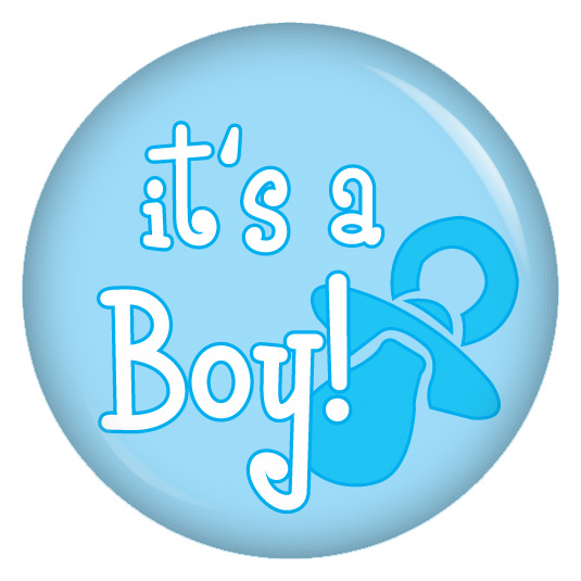 kiwikatze Button its a boy