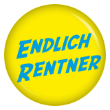Button Endlich Rentner