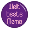 Button Weltbeste Mama