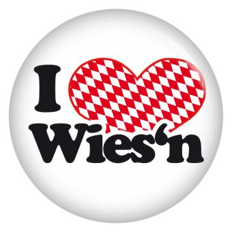 Button I love Wiesn