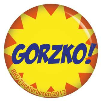 Button Gorzko! RKV Theaterbesen 2017