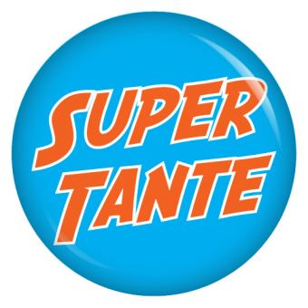 Button Super Tante