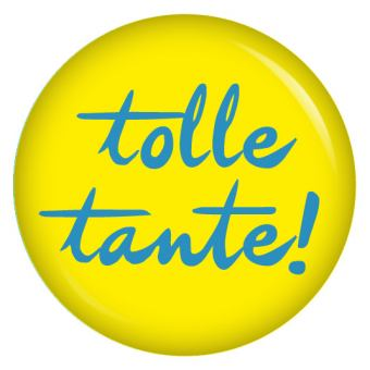Button tolle Tante