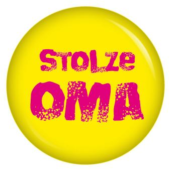 Button stolze Oma