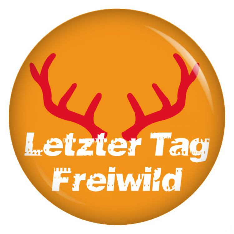 9 Buttons Set Letzter Tag Freiwild / Security