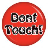 Button Dont touch