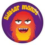 Button 7. Monat (Monster 1)