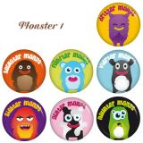 Buttons Schwangerschaft-Set Monsterchen 1