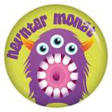 Button 9. Monat (Monster 2)