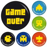 9 Buttons Set Game Over